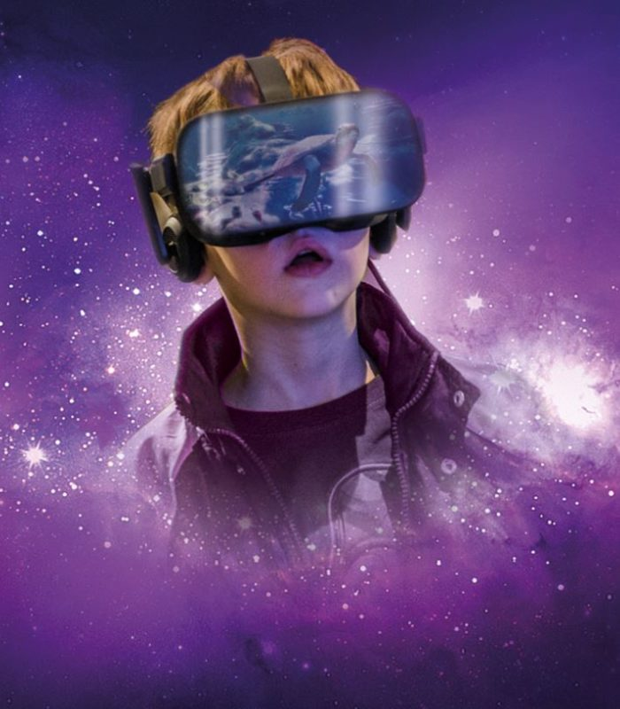 virtual reality planet